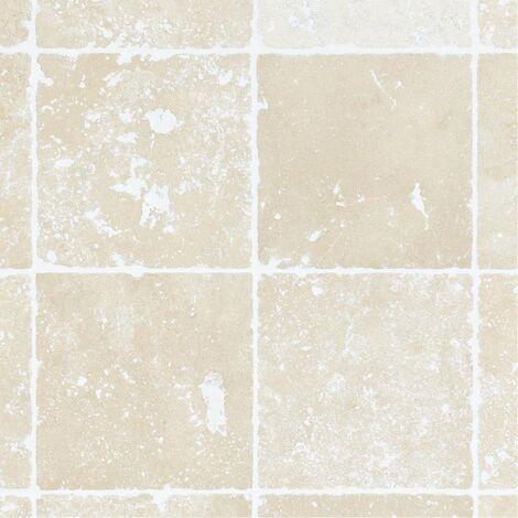 Dallage Travertin Clair 10x10cm - vendu par lot de 0.5 m²