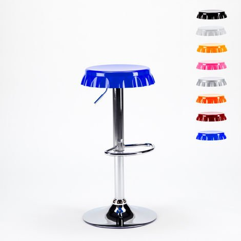 DALLAS Bottle Cap Design Stool For Bar & Kitchen Counter