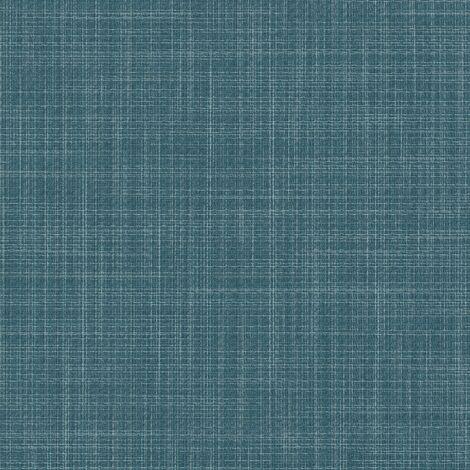 Dalle à coller en vinyle - Aspect fibre tissée - coloris Turquoise | 4.00 mètre carré