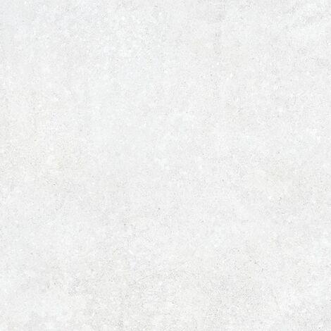 Dalle carrelage antidérapant effet pierre 60x60 cm NASSAU XTRA Blanco R11 ep.2cm - 0.72m²
