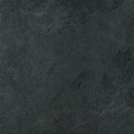 Dalle Carrelage Céramique - 60 x 60 cm SLAB COKE épaisseur 20 mm