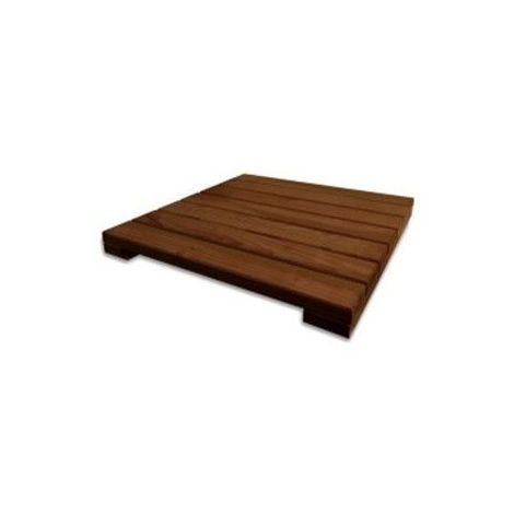 Dalle de sol en bois 50 x 50 - Douglas - Qualite Premium - Origine France