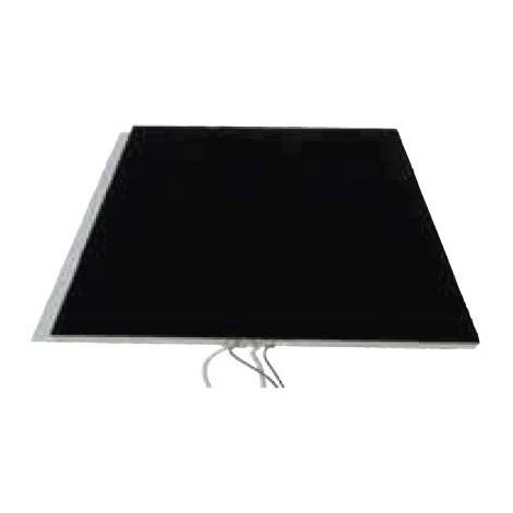 Dalle en feutrine noire 600X600mm à piquer (luminaire non incl) extra plate sans alimentation 12V IP44 DSIBAN TRAJECTOIRE 004585