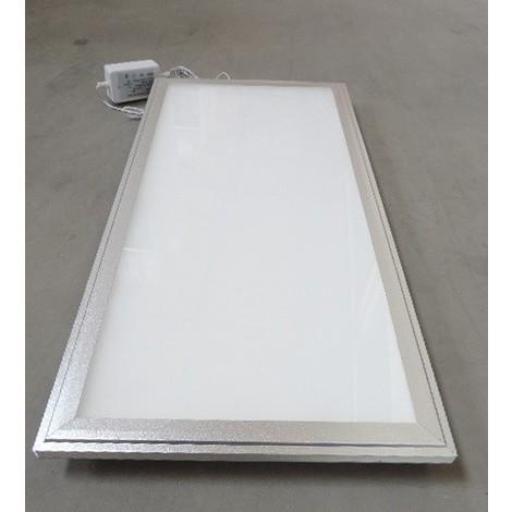 Dalle encastrée LED 28W rectangulaire 600x300mm bord Alu ep 16mm blanc neutre 4000K 1800lm 230V IP20 DOLIGHT 6030-BC