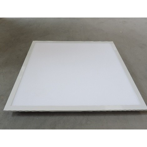 Dalle encastrée LED 36W bord Alu pavé 600X600mm blanc chaud 3000K 3850lm avec driver 230V IP20 DOLIGHT 5940-BC