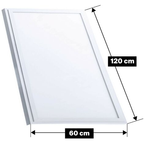Dalle LED 120X60 60w Blanc Froid + Transformateur inclus