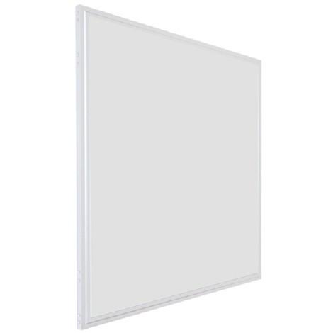 Dalle LED 28 Watts 600x600 mm Prismatique | blanc-neutre-4000k - blanc - 600-x-600-mm