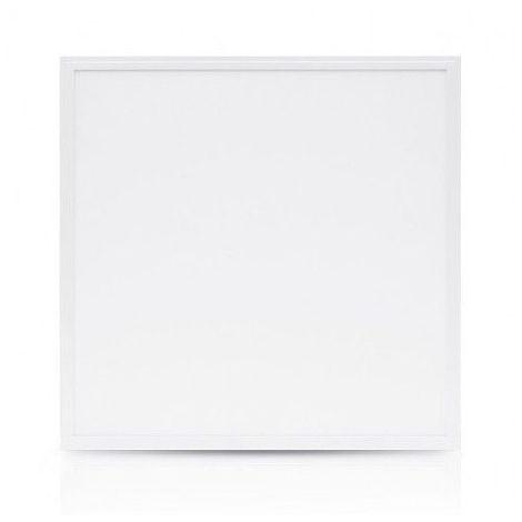 Dalle LED 36W (320W) IP65 Extérieur 595x595 Blanc neutre 4000°K Alu blanc