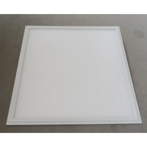 Dalle LED 36W bord blanc 600x600mm 4000K 3529lm avec driver 230V dimmable 1-10V IP40 DISANO 221846100