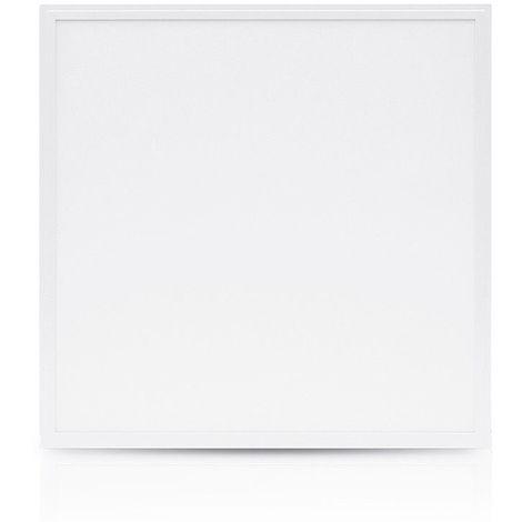 Dalle LED 38W (340W) 595 x 595 Blanc neutre 4000°K (dimmable en option) Alu blc
