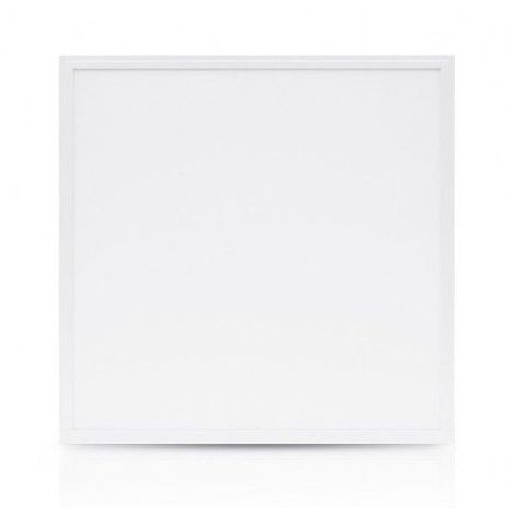Dalle LED 38W (340W) 595x595 Blanc neutre 4000°K Alu blanc