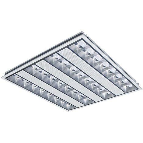 Dalle LED 38W (340W) 595x595 Blanc neutre 4000°K Basse luminance