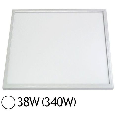 Dalle LED 38W (340W) 600x600 Blanc jour 6000°K
