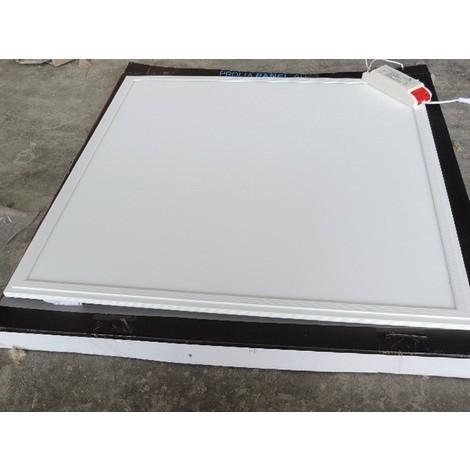 Dalle LED 40W encastré (ou à suspendre) blanc 600X600mm blanc froid 6000K 3600lm 230V 120° IP44 PL-595-40W-CW