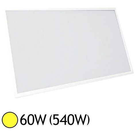 Dalle LED 60 Watts 1200x600 mm