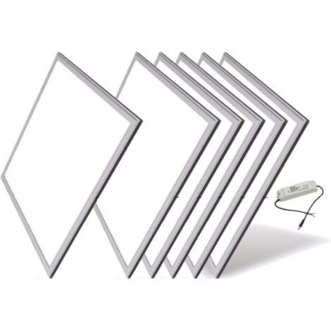 Dalle Led 60x60 60w Blanc Pack De 6