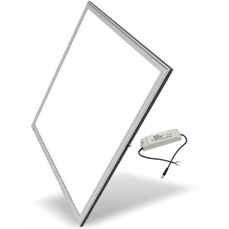 Dalle LED 60x60 Slim 48W ALUMINIUM (Transfo Inclus)