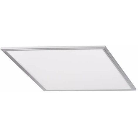 Dalle LED BRAVO 50W Cadre Argent 600x600mm Blanc Neutre 4000K