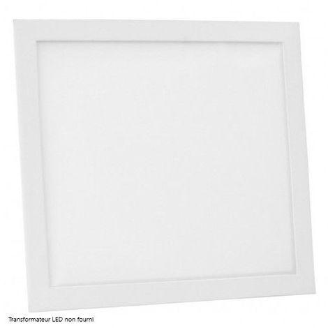 Dalle LED DeliTech® Cadre Blanc - 30x30cm - 20W (Alimentation non fournie)