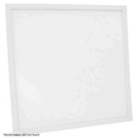 Dalle LED DeliTech® Cadre Blanc - 60x60cm - 40W ( Alimentation non fournie)