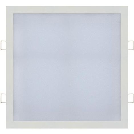 Dalle LED extra plate carré blanc 18W (Eq. 144W) 4200K Dim 225x225mm