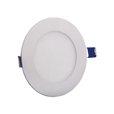 Dalle LED extra plate ronde blanc 3W (Eq. 24W) 6000K Diam 85mm 300Lm
