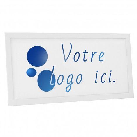 - Dalle LED Imprimée et Personnalisable avec votre logo - 600x300mm (Alimentation non fournie)