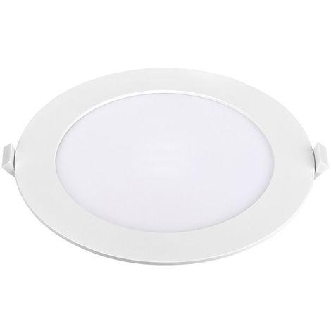 Dalle LED slim Panasonic ronde 12W 3000K Diam 170mm