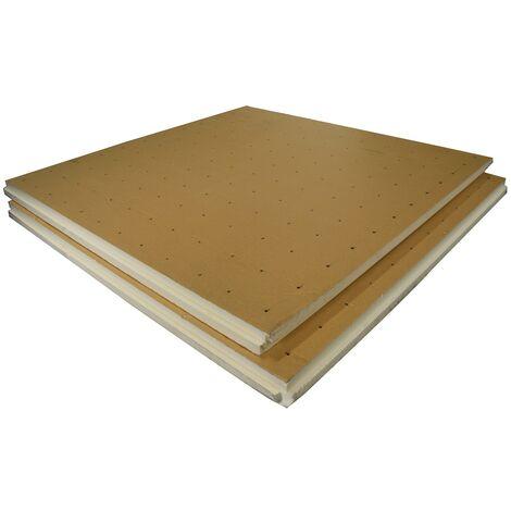Dalle lisse polyuréthane R3,7 Ep.80mm - Lot de 6 plaques (7,02m²)