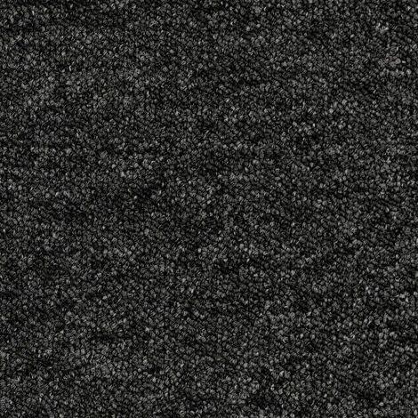 """main image of """"Dalle moquette acoustique autoplombante classe 33 24dB ép 5,5mm gris foncé chiné AA90 9981 - boite 20 dalles 50x50cm - 5m² - Tarkett"""""""