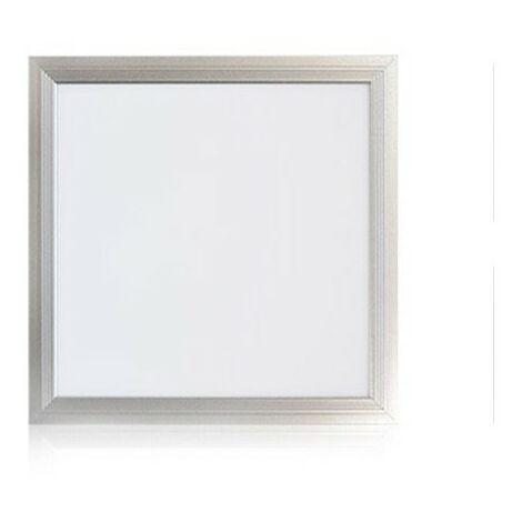 Dalle plafond LED - 18W - 3000 K - Aluminium