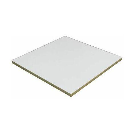 DALLE PLAFOND TONGA A BLANC 600X600 MM EPAIS 22MM - 24 DALLES / COL SOIT 8.64Mï