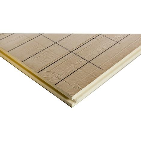 Dalle plane plancher chauffant