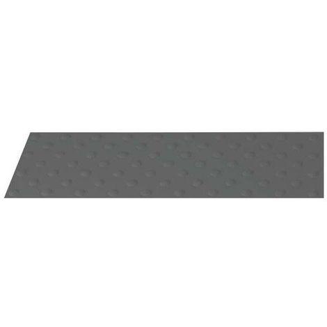 Dalle podotactile à coller Grise WATLEX 815 x 400 mm