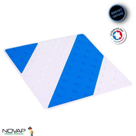 Dalle podotactile intérieure/extérieure Bleu/Blanc - 6102014