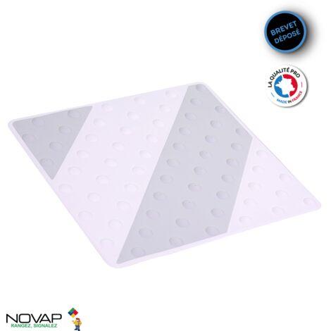 Dalle podotactile intérieure/extérieure Gris/Blanc - 6102021