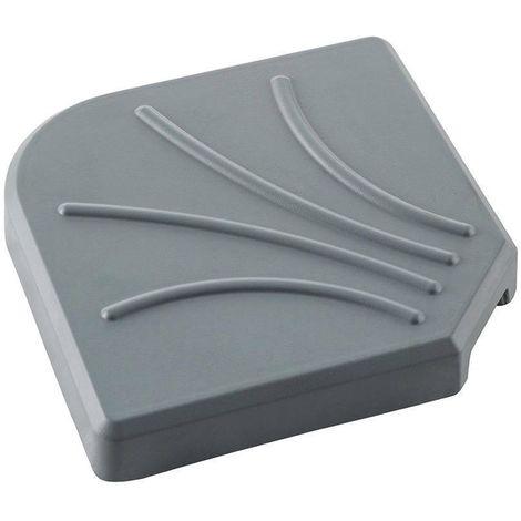 dalle pour parasol d port 25 kg gris 117827. Black Bedroom Furniture Sets. Home Design Ideas