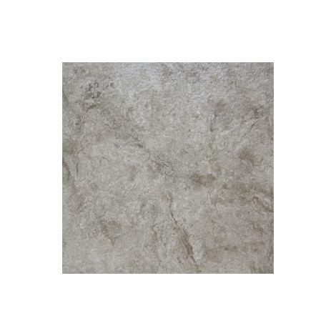 Dalle PVC à coller- Effet Marbre Gris- Trafic Intense - 47x47 cm | 3.31 mètre carré