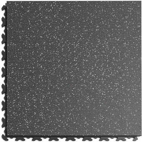 """Dalle PVC Garage Fortelock à joints invisibles Print ECO """"Gris 01"""" - 45,2 x 45,2 cm"""