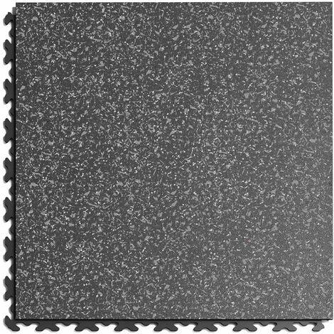 """Dalle PVC Garage Fortelock à joints invisibles Print ECO """"Gris 02"""" - 45,2 x 45,2 cm"""