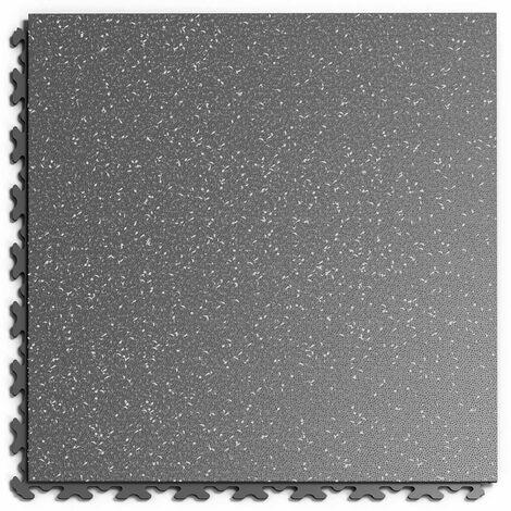 """Dalle PVC Garage Fortelock à joints invisibles Print """"Graphite 01"""" - 45,2 x 45,2 cm"""