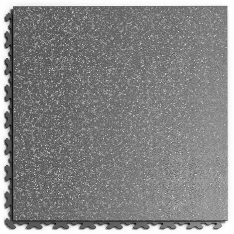 """Dalle PVC Garage Fortelock à joints invisibles Print """"Graphite 02"""" - 45,2 x 45,2 cm"""