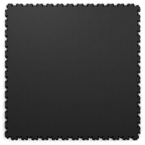 "Dalle PVC garage Fortelock XL 2230 ""Skin Noir"" - 65,3 x 65,3 cm"