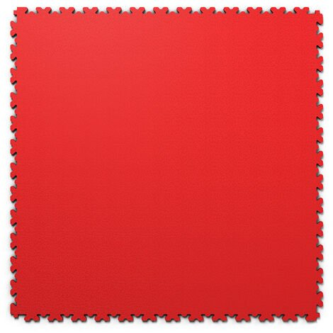 "Dalle PVC garage Fortelock XL 2230 ""Skin Rouge"" - 65,3 x 65,3 cm"