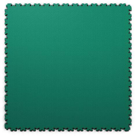 """Dalle PVC garage Fortelock XL 2230 """"Skin Vert"""" - 65,3 x 65,3 cm"""