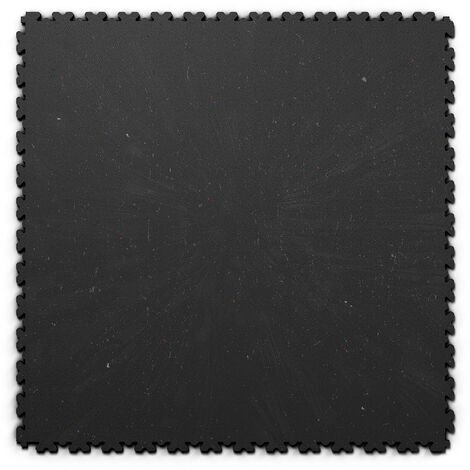 "Dalle PVC garage Fortelock XL ECO 2230 ""Skin Noir"" - 65,3 x 65,3 cm"
