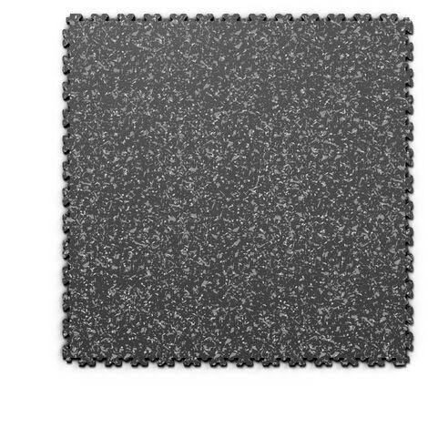 "Dalle PVC garage Fortelock XL Print 2230 ""Skin Graphite 02"" - 65,3 x 65,3 cm"