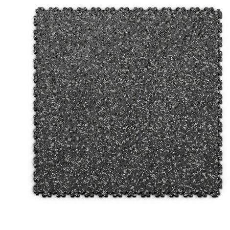 "Dalle PVC garage Fortelock XL Print 2230 ""Skin Graphite 03"" - 65,3 x 65,3 cm"