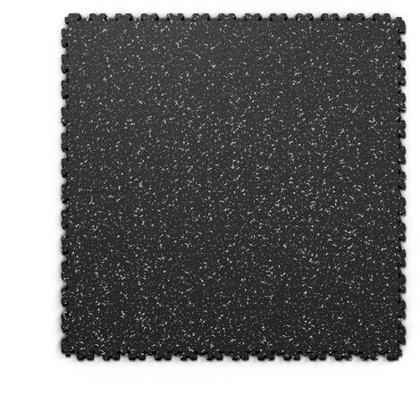 "Dalle PVC garage Fortelock XL Print 2230 ""Skin Noir 01"" - 65,3 x 65,3 cm"