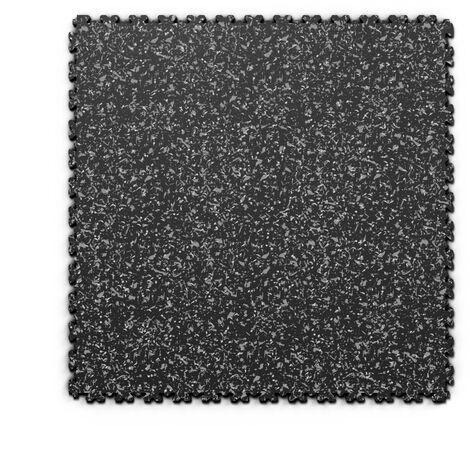 "Dalle PVC garage Fortelock XL Print 2230 ""Skin Noir 02"" - 65,3 x 65,3 cm"